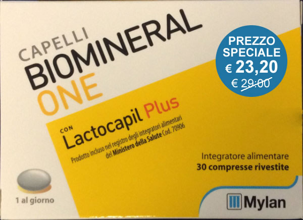 Biomineral One con Lactocapil plus